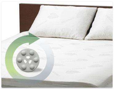 naturest מזרן מיטת נוער, מיטת יחיד, מיטה זוגית, כרית